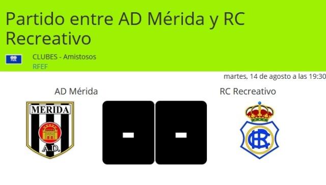 AD MERIDA-RECRE PRESENTACION 18/19 DEL MERIDA (AMISTOSO) 0719