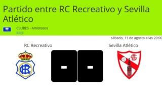RECRE-SEVILLA AT.PRETEMPORADA (18/19) 0812
