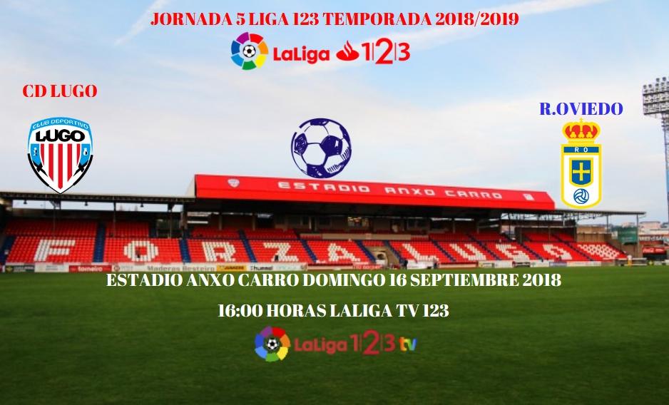 J.5 LIGA 123 2018/2019 CD LUGO-R.OVIEDO (POST OFICIAL) 0836