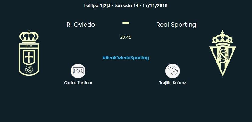 J.14 LIGA 123 TEMPORADA 2018/2019 R.OVIEDO-SP.GIJON (POST OFICIAL) 0880