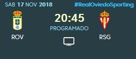 J.14 LIGA 123 TEMPORADA 2018/2019 R.OVIEDO-SP.GIJON (POST OFICIAL) 0973