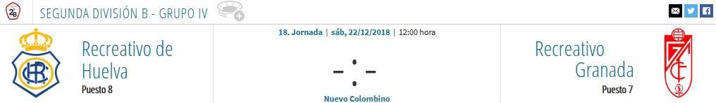 J.18 2ªB G.4º 2018/2019 RECRE-REC.GRANADA (POST OFICIAL) 0995