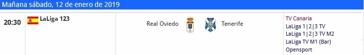 J.21 LIGA 123 TEMPORADA 2018/2019 REAL OVIEDO-CD TENERIFE (POST OFICIAL) 11104