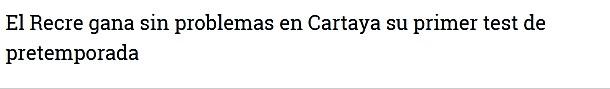 ASI VIERON LOS PERIODICOS EL CARTAYA 0-RECRE 4  1112
