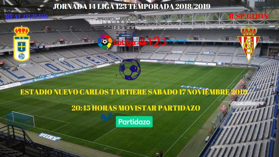 J.14 LIGA 123 TEMPORADA 2018/2019 R.OVIEDO-SP.GIJON (POST OFICIAL) 1360