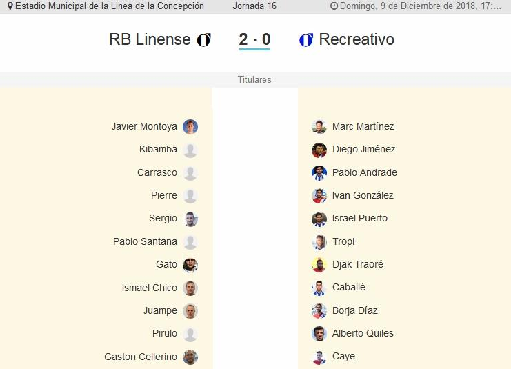 J.16 2ªB G.4º 2018/2019 RB LINENSE-RECRE (POST OFICIAL) 1368