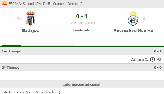 J.2 2ªB G.4º TEMP.18/19 CD BADAJOZ-RECRE (POST OFICIAL) 1417