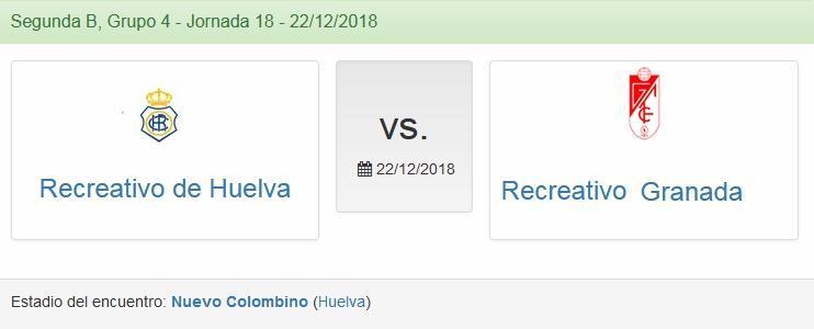 J.18 2ªB G.4º 2018/2019 RECRE-REC.GRANADA (POST OFICIAL) 1662