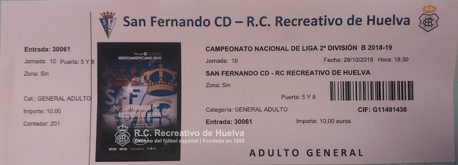 J.10 2ªB G.4º 2018/2019 SAN FERNANDO-RECRE (POST OFICIAL) 20181010