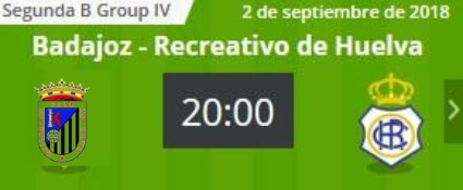 J.2 2ªB G.4º TEMP.18/19 CD BADAJOZ-RECRE (POST OFICIAL) 2112