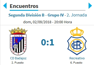 J.2 2ªB G.4º TEMP.18/19 CD BADAJOZ-RECRE (POST OFICIAL) 2113