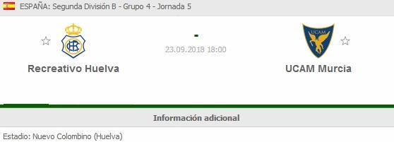J.5 2ªB G.4º TEMP. 2018/2019 RECRE-UCAM MURCIA (POST OFICIAL) 2222