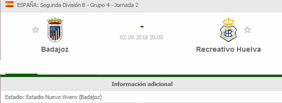 J.2 2ªB G.4º TEMP.18/19 CD BADAJOZ-RECRE (POST OFICIAL) 2412