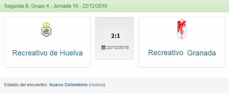 J.18 2ªB G.4º 2018/2019 RECRE-REC.GRANADA (POST OFICIAL) 2555