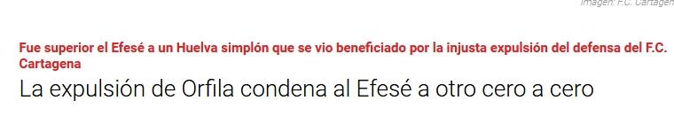 ASI VIERON LOS PERIODICOS EL RECRE 0-CARTAGENA 0 2616