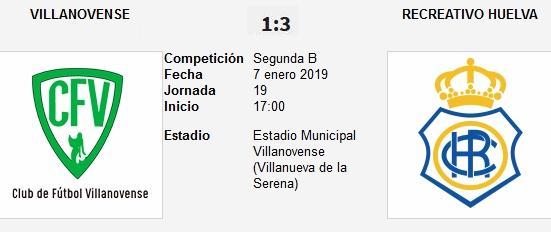 J.19 2ªB G.4º 2018/2019 CF VILLANOVENSE-RECRE (POST OFICIAL) 3819