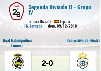 J.16 2ªB G.4º 2018/2019 RB LINENSE-RECRE (POST OFICIAL) 4010