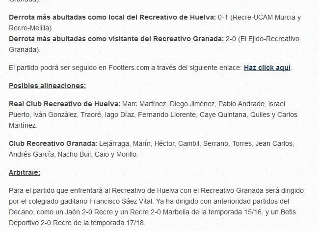 J.18 2ªB G.4º 2018/2019 RECRE-REC.GRANADA (POST OFICIAL) Capt1035