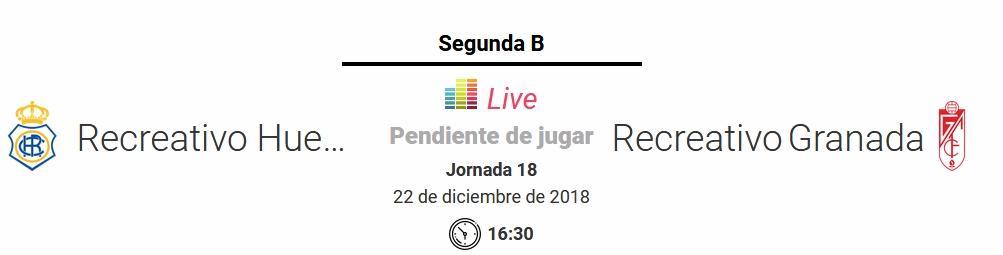 J.18 2ªB G.4º 2018/2019 RECRE-REC.GRANADA (POST OFICIAL) Capt1052