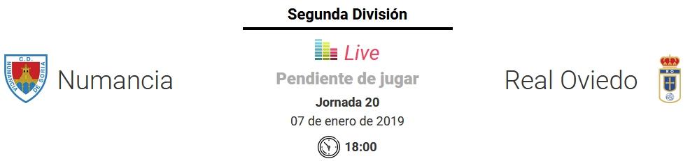 J.20 LIGA 123 TEMPORADA 2018/2019 CD NUMANCIA-R.OVIEDO (POST OFICIAL) Capt1121