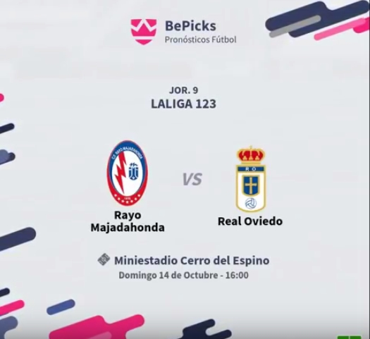 J.9 LIGA 123 2018/2019 RAYO MAJADAHONDA-R.OVIEDO (POST OFICIAL) Captu490