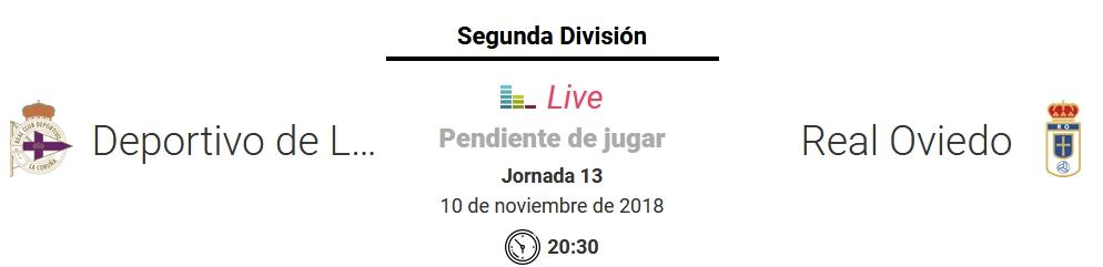 J.13 LIGA 123 TEMPORADA 2018/2019 DEPORTIVO-R.OVIEDO (POST OFICIAL) Captu698