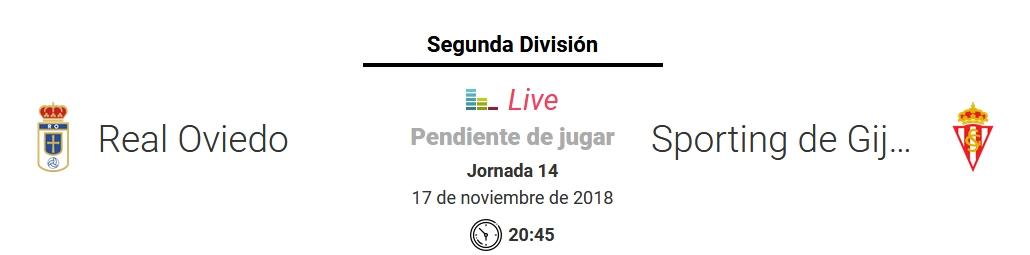 J.14 LIGA 123 TEMPORADA 2018/2019 R.OVIEDO-SP.GIJON (POST OFICIAL) Captu753