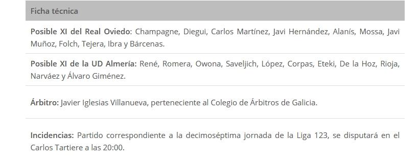 J.17 LIGA 123 TEMPORADA 2018/2019 R.OVIEDO-UD ALMERIA (POST OFICIAL) Captu869