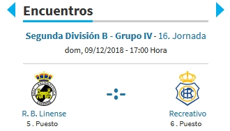 J.16 2ªB G.4º 2018/2019 RB LINENSE-RECRE (POST OFICIAL) Captu873