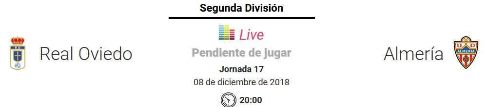 J.17 LIGA 123 TEMPORADA 2018/2019 R.OVIEDO-UD ALMERIA (POST OFICIAL) Captu893