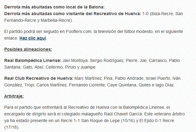 J.16 2ªB G.4º 2018/2019 RB LINENSE-RECRE (POST OFICIAL) Captu899