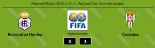 RECRE 0 CORDOBA 1 AMISTOSO PRETEMPORADA 2018/2019 Captur13