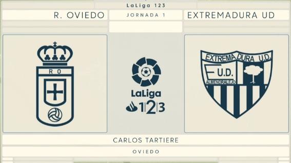 PREVIA J.1 LIGA 123 18/19 R.OVIEDO-EXTREMADURA UD Captur73