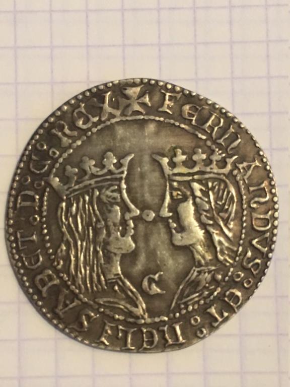 Reproducción de un Doble excelente de los Reyes Catolicos. Sevilla. Img_0611