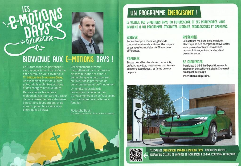 Les E-Motions Days du Futuroscope - du 2 au 5 septembre 2021 E-moti22