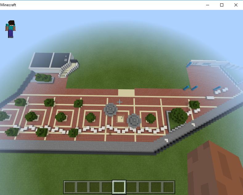 Projet : le Futuroscope sur Minecraft Minecr10