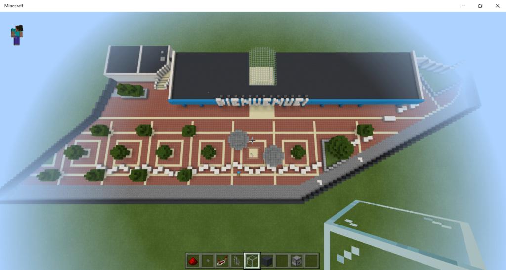 Projet : le Futuroscope sur Minecraft Minecr11