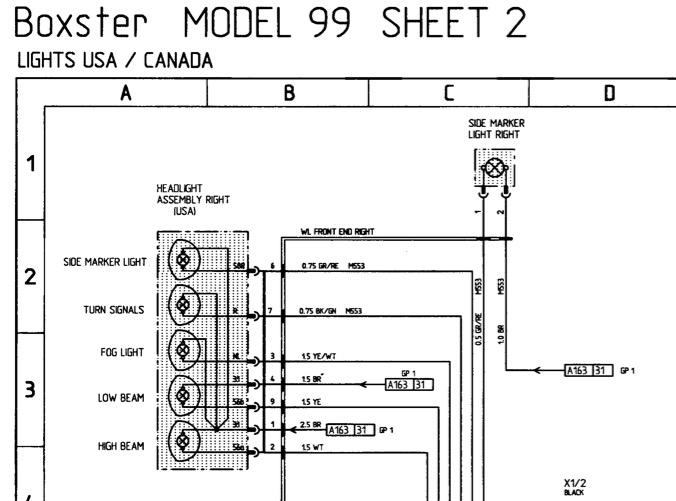 Feu latéraux, positions ou clignotants Captur96