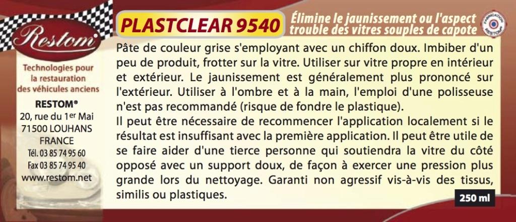 Lunette capote Plastc10