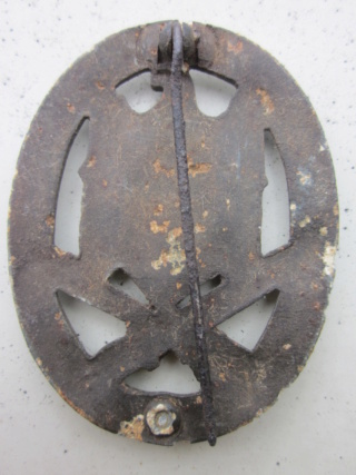 badge FLAK Heer et Assaut général  authentique ? Img_9814