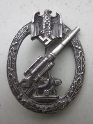 badge FLAK Heer et Assaut général  authentique ? Img_9816