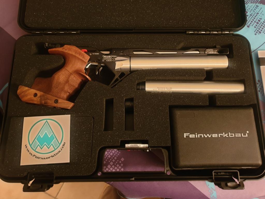 Mon tous premier pistolet 10M  FEINWERKBAU P8X Fein_p13