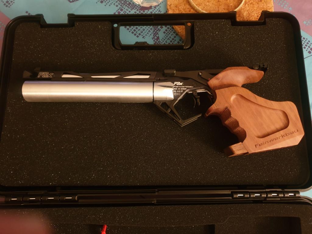 Mon tous premier pistolet 10M  FEINWERKBAU P8X Fein_p14