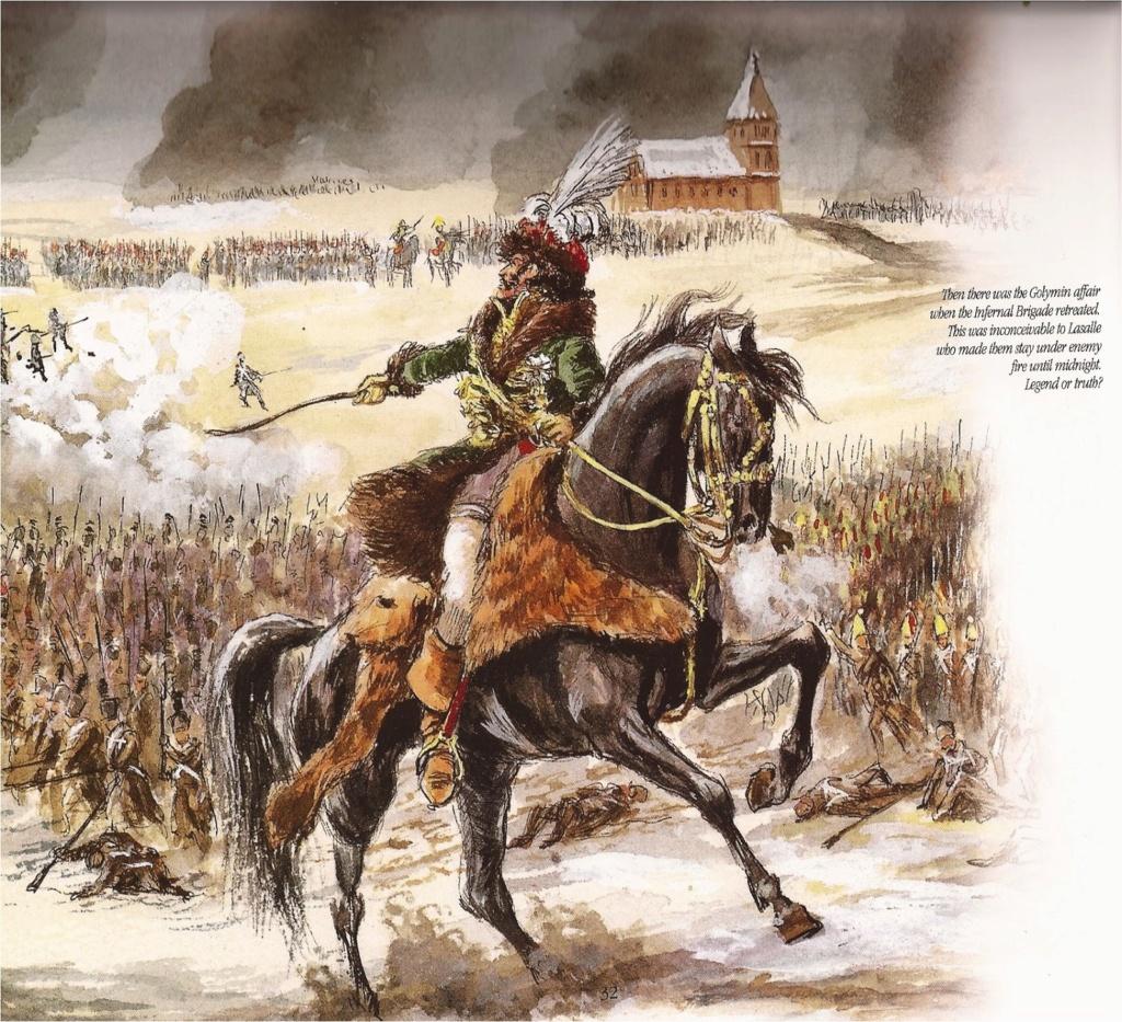 Bataille de EYLAU 1807  Murat-10