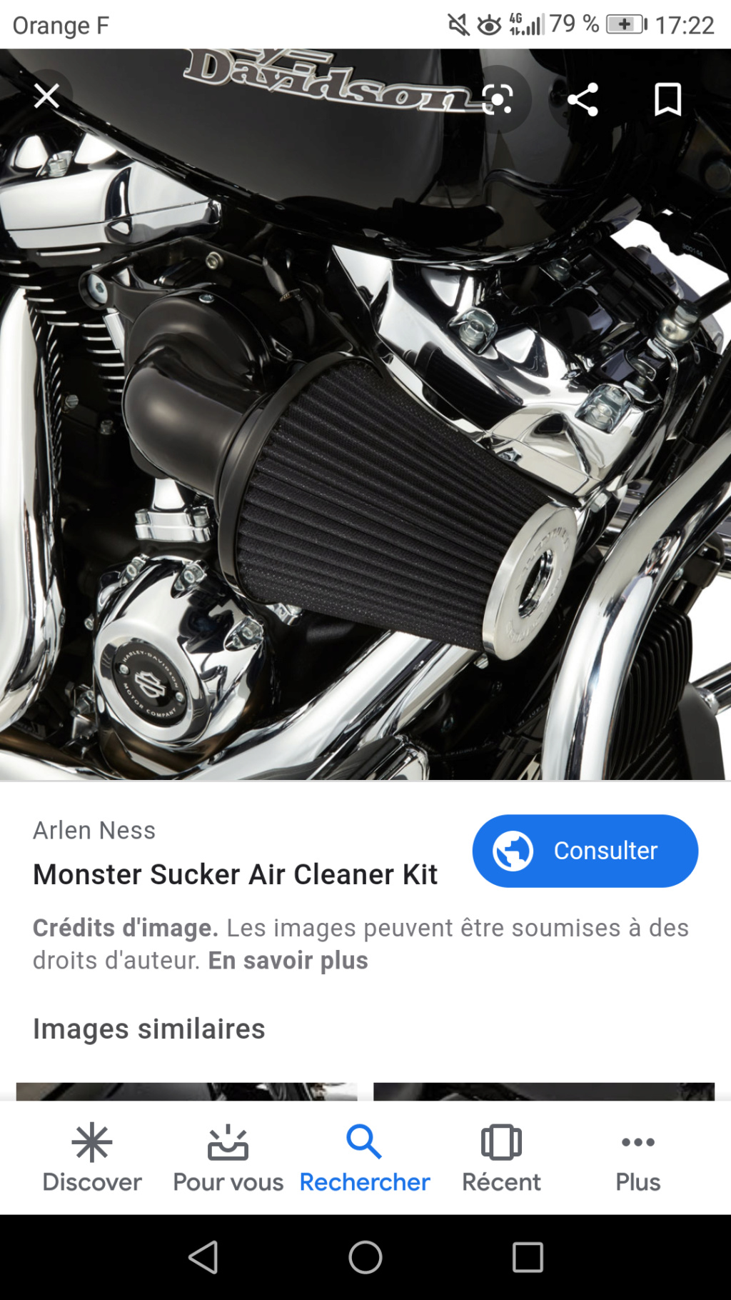 Filtre Heavy Breather pour Low Rider S 2020 Screen10