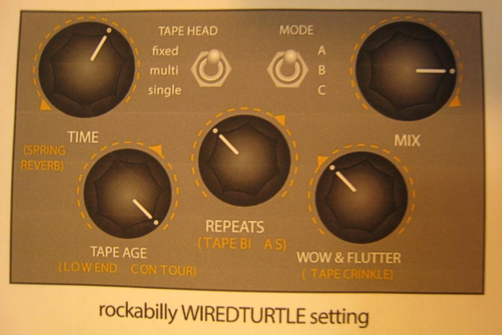 reglage ampli C13