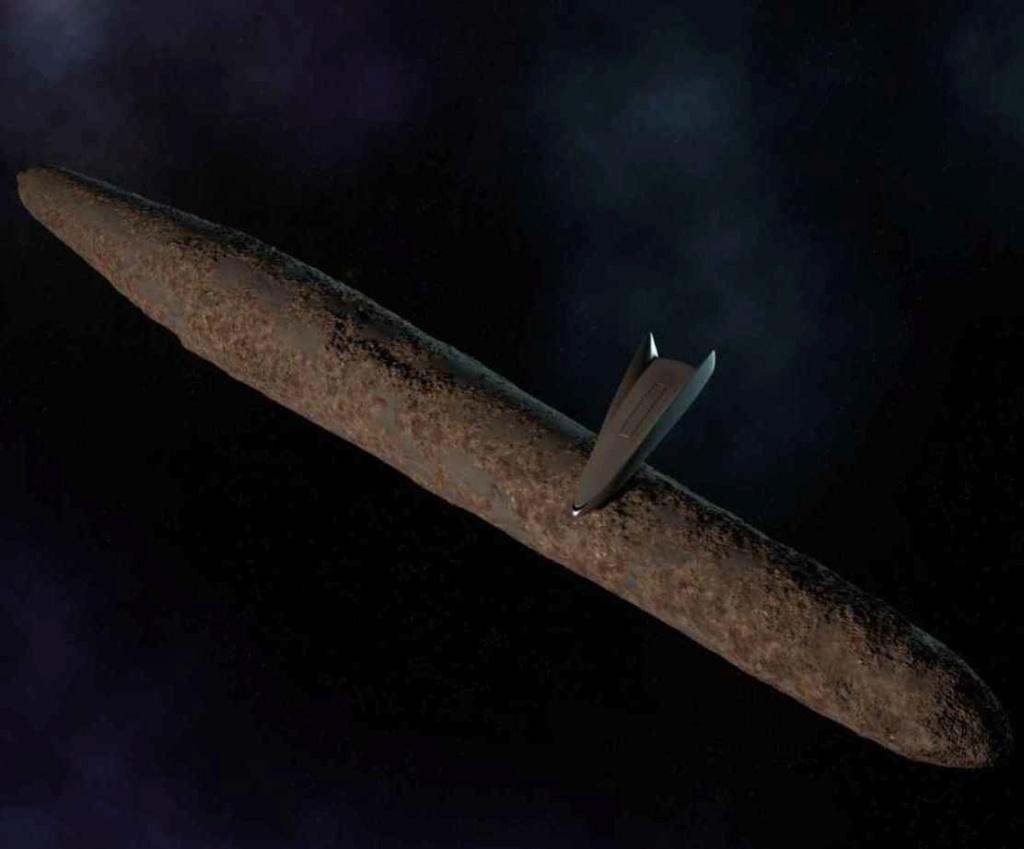 Майкл Салла - Инсайдеры военно-морского флота подтверждают миссию тайного космического флота к Оумумуа 22 февраля 2019 17_oum10