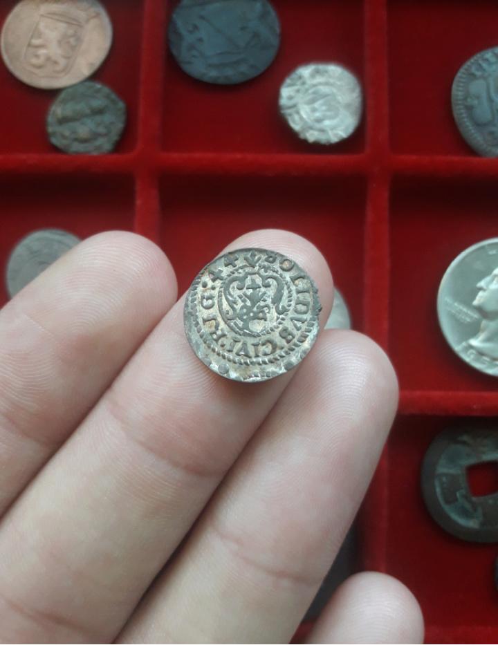 Solidus de Riga. Cristina I de Suecia, 1644 20191115