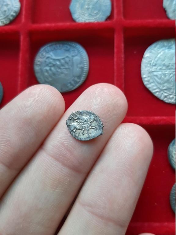 """Denga de plata de Iván IV """"el Terrible"""". 1535-1538 20200810"""