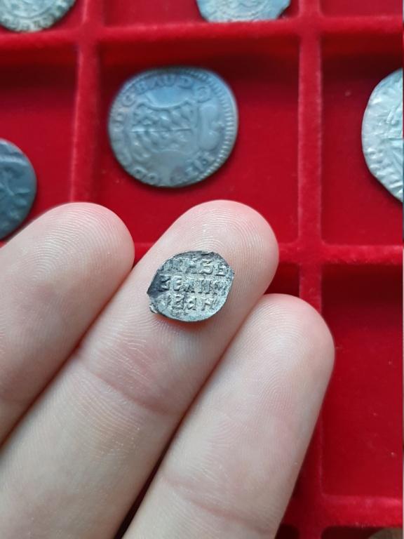 """Denga de plata de Iván IV """"el Terrible"""". 1535-1538 20200811"""